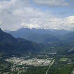 Blick über Squamish vom Second Peak