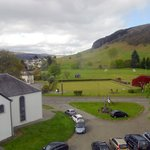 View to the front of the Killin Hotel