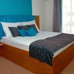 Blue room, bedroom