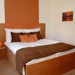 Brown room, bedroom