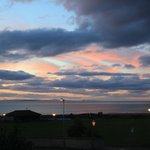 Moray Firth at sunset from bedroom window