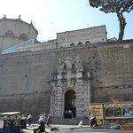 Across from Caffe Vaticano