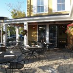 Join us on our patio