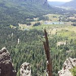 View from Wolf Creek pass