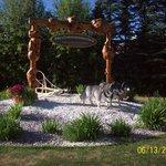 Commemorative arch - Iditarod