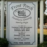 Front Porch, Southern Dining
