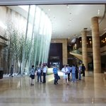 The reception foyer at the South Tower