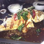 The most delicious fish EVER!!