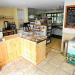 Plenty of tasty cakes baked on the premises are available as well as warming food and drinks