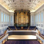 The interior of Town Hall Birmingham as seen from the back of the hall - credit Mike Gutteridge