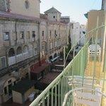 balcon 3° étage