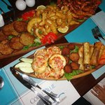 Seafood and Vegetarian Starters