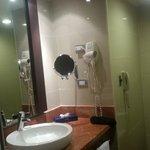 Coté opposé à la douche