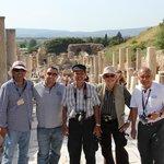 Jasnminne Tour group in Ephesus