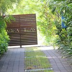 Driveway/ entrance to Villa (with 24/7 security guard)