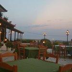 The restaurant, so nice