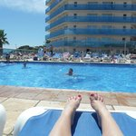Hotel Pool - View from sunbed