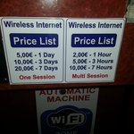 Wifi charges