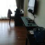 spacious superior room