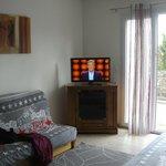 salle tv tres grande avec acces ext