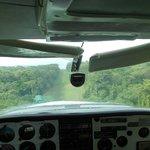 In atterraggio al Corcovado