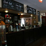 The bar at The Red Kite