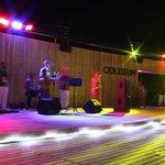 Live music at Coliseum Beach Bar
