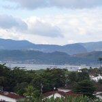 Vista da baía de Paraty.