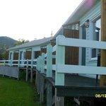 Balcones de las habitaciones con vista al mar