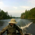 Great scenery on the french river