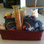 Awesome gift basket!
