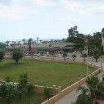 Вид с терассы на соседний отель