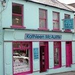 Kathleen McAuliffe Shop Green Street Dingle. Ireland