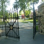 White House gates donated to Hayes Presidential Center