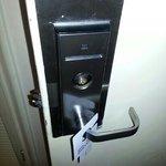 door lock falling insde mechanism