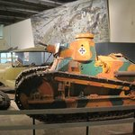 First tanks of WWI