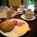 Perfect German breakfast buffet