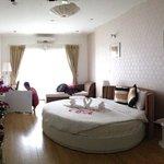 Honeymoon suite, room 502