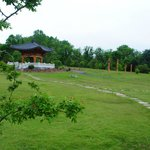 Korean Bell Garden at Meadowlark is the only one of its kind in the Western Hemisphere.