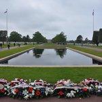 Normandy American Cemetery near Omaha Beach