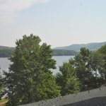 view of lake from room