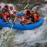 White water rafting on the Klamath River
