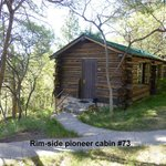 View of Pioneer Partial Rimview Cabin #73