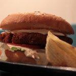 Big Cheesy Chicken Burger