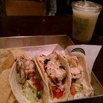 Grilled Fish Tacos w/ Frozen Margarita
