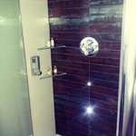 Cool shower!