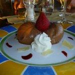 Dessert at Van Gogh