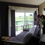 Sunset Suite overlooking the vineyards