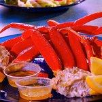 Freshly Steamed Crab Legs!