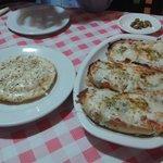 Provolone Cake and Bruscetta Pecorino